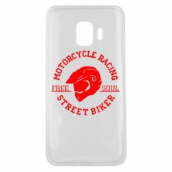 Чохол для Samsung J2 Core Motorcycle Racing Street Biker