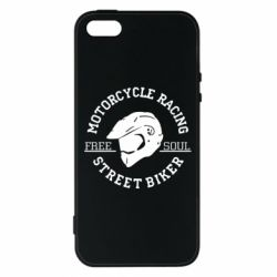 Чохол для iphone 5/5S/SE Motorcycle Racing Street Biker