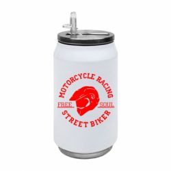 Термобанка 350ml Motorcycle Racing Street Biker