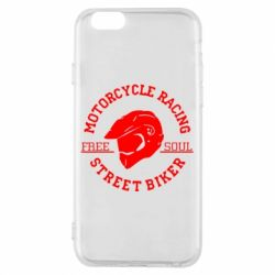 Чохол для iPhone 6/6S Motorcycle Racing Street Biker
