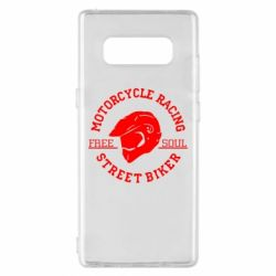 Чохол для Samsung Note 8 Motorcycle Racing Street Biker