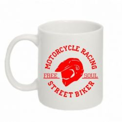 Кружка 320ml Motorcycle Racing Street Biker