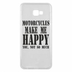 Чехол для Samsung J4 Plus 2018 Motorcycles make me happy you not so much - FatLine