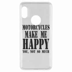 Чехол для Xiaomi Redmi Note 5 Motorcycles make me happy you not so much - FatLine