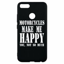 Чехол для Xiaomi Mi A1 Motorcycles make me happy you not so much - FatLine