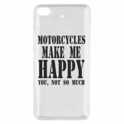 Чехол для Xiaomi Mi 5s Motorcycles make me happy you not so much - FatLine