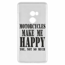 Чехол для Xiaomi Mi Mix 2 Motorcycles make me happy you not so much - FatLine