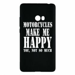 Чехол для Xiaomi Mi Note 2 Motorcycles make me happy you not so much - FatLine