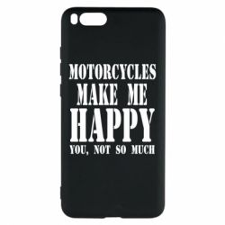 Чехол для Xiaomi Mi Note 3 Motorcycles make me happy you not so much - FatLine