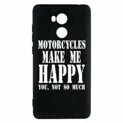 Чехол для Xiaomi Redmi 4 Pro/Prime Motorcycles make me happy you not so much - FatLine