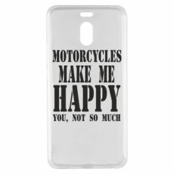 Чехол для Meizu M6 Note Motorcycles make me happy you not so much - FatLine