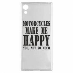 Чехол для Sony Xperia XA1 Motorcycles make me happy you not so much - FatLine