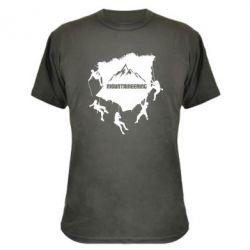 Камуфляжна футболка Mountaineering