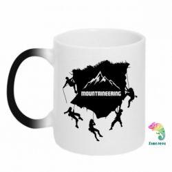 Кружка-хамелеон Mountaineering