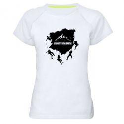 Жіноча спортивна футболка Mountaineering