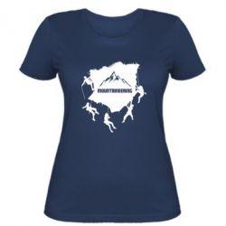 Жіноча футболка Mountaineering