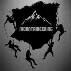 Наклейка Mountaineering