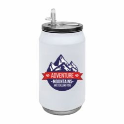 Термобанка 350ml Mountains are calling you