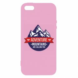 Чохол для iphone 5/5S/SE Mountains are calling you