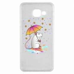 Чохол для Samsung A3 2016 Mouse and rain
