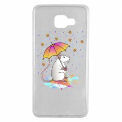 Чохол для Samsung A7 2016 Mouse and rain