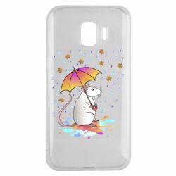 Чохол для Samsung J2 2018 Mouse and rain
