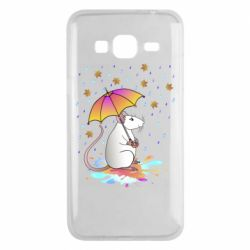 Чохол для Samsung J3 2016 Mouse and rain