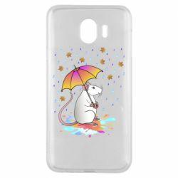 Чохол для Samsung J4 Mouse and rain