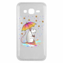 Чохол для Samsung J5 2015 Mouse and rain