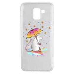 Чохол для Samsung J6 Mouse and rain
