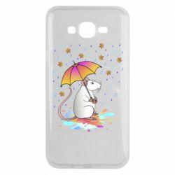 Чохол для Samsung J7 2015 Mouse and rain