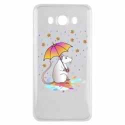 Чохол для Samsung J7 2016 Mouse and rain