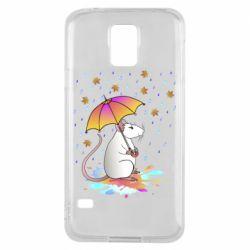 Чохол для Samsung S5 Mouse and rain