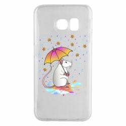 Чохол для Samsung S6 EDGE Mouse and rain