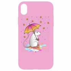 Чохол для iPhone XR Mouse and rain