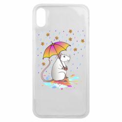 Чохол для iPhone Xs Max Mouse and rain