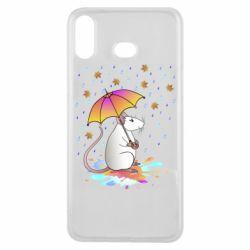 Чохол для Samsung A6s Mouse and rain