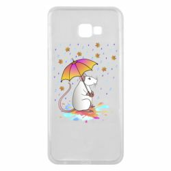 Чохол для Samsung J4 Plus 2018 Mouse and rain