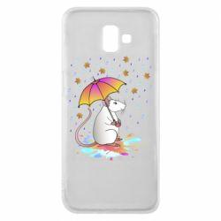 Чохол для Samsung J6 Plus 2018 Mouse and rain