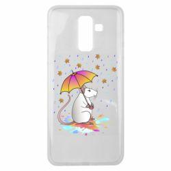 Чохол для Samsung J8 2018 Mouse and rain