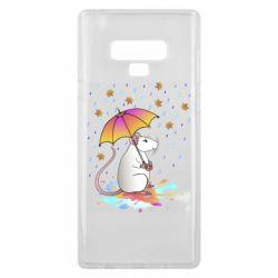 Чохол для Samsung Note 9 Mouse and rain