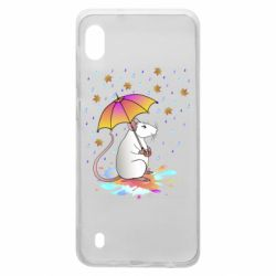Чохол для Samsung A10 Mouse and rain