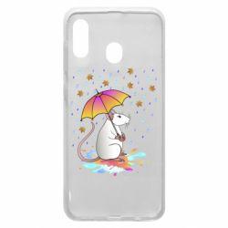 Чохол для Samsung A20 Mouse and rain