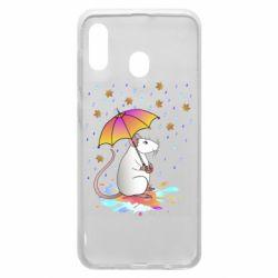 Чохол для Samsung A30 Mouse and rain