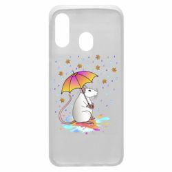 Чохол для Samsung A40 Mouse and rain