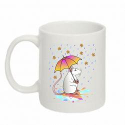 Кружка 320ml Mouse and rain