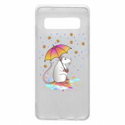 Чохол для Samsung S10 Mouse and rain