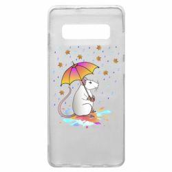 Чохол для Samsung S10+ Mouse and rain