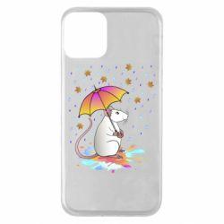 Чохол для iPhone 11 Mouse and rain