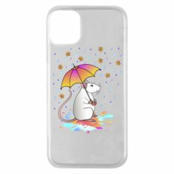 Чохол для iPhone 11 Pro Mouse and rain
